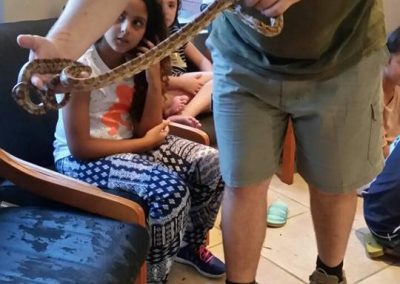 Jewish vacation activities for kids - snake